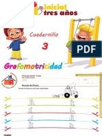 Cuadernillo 3 Grafomotricidad 3 Años