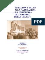 Alimentación y Salud Según La Naturaleza y La Enseñanza Del Maestro Petar Deunov