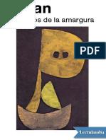 Silogismos de La Amargura - E M Cioran