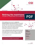 Retiring the Mainframe
