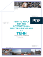 How to Apply at TUHH General