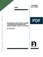 823-1-2002 Sistema de detección de alarma y extinción Oficina.pdf