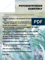 Psychosynthesis Quarterly March 2017