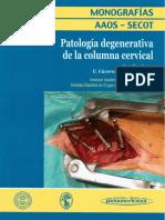30 Patología Degenerativa de La Columna Cervical