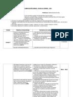 5° Planificación Anual   Educación Física