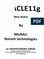 Murali Sir ( Oracle 11g Notes )