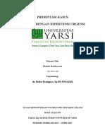 Presentasi Kasus Tetanus Cover