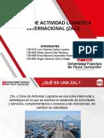 Zonas de Actividad Logistica Internacional Zali