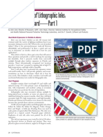Fade Resistance of Lithographic Inks