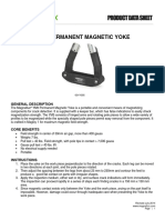 YM 5 Electromagnetic Yoke Product Data Sheet English
