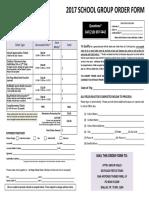 Sfft School Order Form