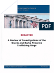A Review of Investigations of the Osorio and Barba Firearms Trafficking Rings