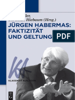 (Klassiker Auslegen 62) Peter Koller, Christian Hiebaum-Jürgen Habermas_ Faktizität Und Geltung-Walter de Gruyter (2016)