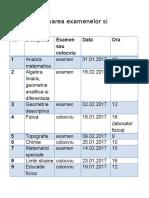 Programarea Examenelor Si Colocviilor (1)