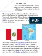 all about peru info sheet for wordsearch station