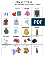 clothing vocabdocx
