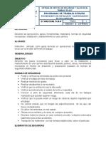 P-SST-003 Procedimiento Mantenimiento de Carrilera