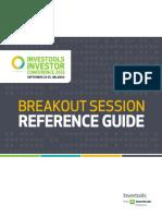 Investors Conference 2013