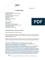 American Oversight FOIA to DHS - Tohono O'odham Nation (DHS-17-0054)