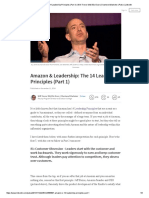 Amazon & Leadership_ the 14 Leadership Principles (Part 1) _ Will Trevor MA_ BSc Econ _ Chartered Marketer _ Pulse _ LinkedIn