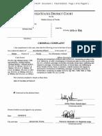 Esthela Clark Criminal Complaint