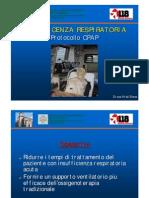Protocollo CPAP INSUFFICENZA RESPIRATORIA