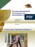 Holanda y Mercadeo Internacional Del Cacao y Las Potencialidades de Colombia