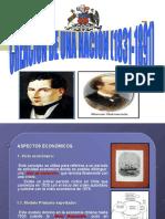 7. Creación de Una Nación 1831 - 1891