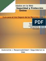 """""""Privacidad, Seguridad y Protección Online"""""""