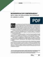 Modernizacion Empresarial Reto Para Las Relaciones Ind_en_ALatina