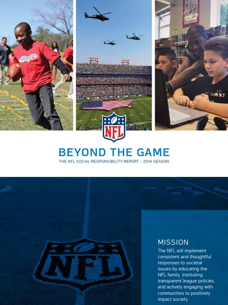 2016 Social Responsibility Full Report NFL  552183db8