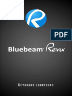BLUEBEAM Keyboard Shortcuts