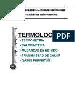 Apostila de Termologia IFPE