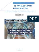 Curso de Angeles Gratis Leccion 32 en Nuestra Vida Alexiis y Centro Atenea Espiritual.