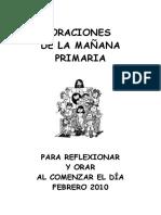 Oraciones 2º Y 3º CICLO PDF