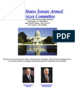 """The [Untold] Tillman Story"" Appendix E1 -- May 2008 Senate Hearings (7/14/10)"