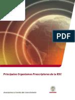 UC Conocer Principales Organismos Prescriptores RSC