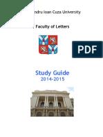 Study Guide MA 2014 15