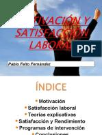 [PD] Presentaciones - Motivacion y Satisfaccion Laboral