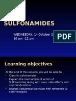 Sufonamides