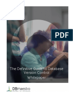 The Definitive Guide to Database Version Control NEW