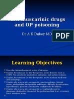 2 Antimuscarinic Drugs Dr. Dubey 2011
