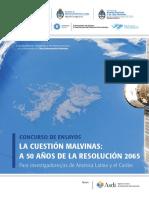 Concurso de Ensayos La Cuestion Malvinas