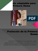 Protocolo de La Primera Dama