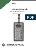 TX9560MT User Manual 042016