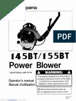 145bt Operators Manual