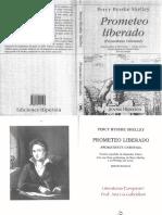 P. B. Shelley_Prometeo Liberado [Bilingüe]