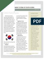south korea political system