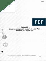 41- Anexo No 26 - Lineamiento Para El Plan Maestro