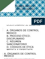 Régimen Medico Disciplinario